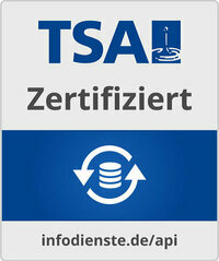 Externer Link: Zertifizierte TSA-Schnittstelle
